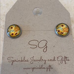Jewelry - Masterpiece Collection Van Gogh Painting EARRINGS